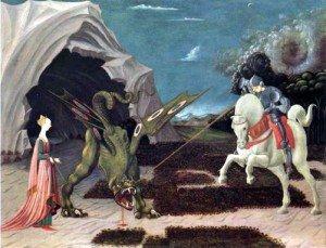 Comparaison entre les Saint Georges et le dragon dragon1-300x229
