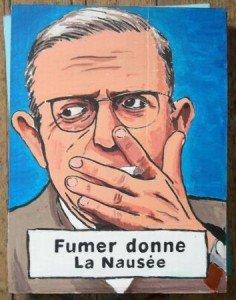 Comment arrêter de fumer : la méthode Sartre sartrefumer-236x300