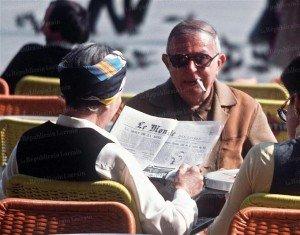 Sartre aveugle à la peinture ? la-police-n-ignorait-rien-ou-presque-des-deplacements-de-jean-paul-sartre-ici-avec-simone-de-beauv-300x235